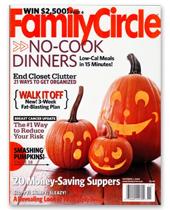 Family Circle October 2008